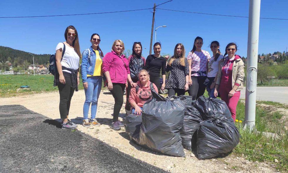 Акција чишћења нашег града
